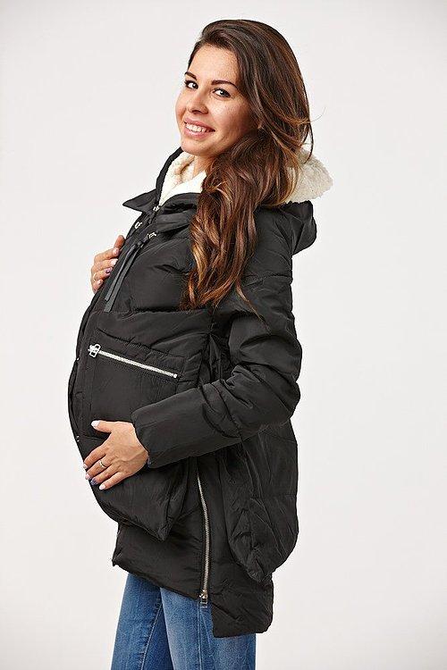 Пуховик на зиму для беременных 60