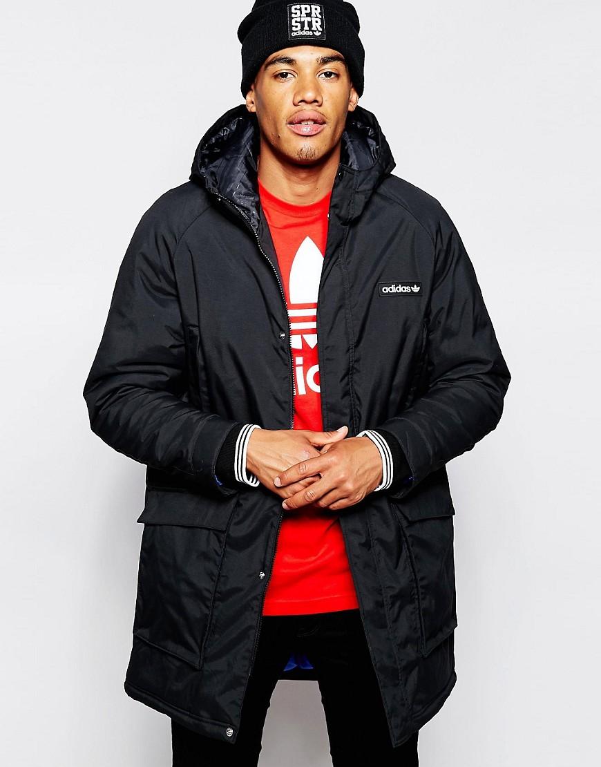 3fc522b1 Мужская парка Adidas (34 фото): зимняя, утепленная, Originals, Neo