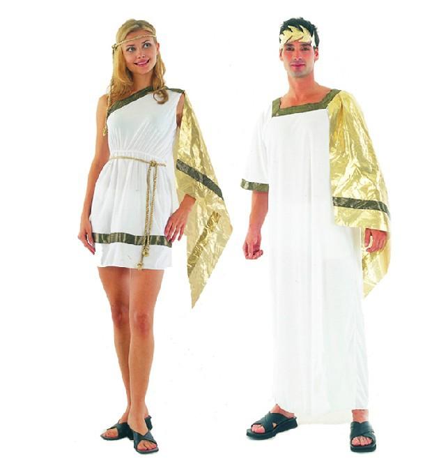 Древнегреческие наряды для женщин