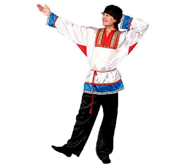 национальный мужской русский костюм фото