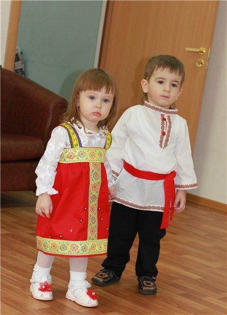Русский костюм своими руками для мальчика