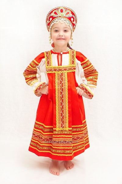 русский народный костюм. фото