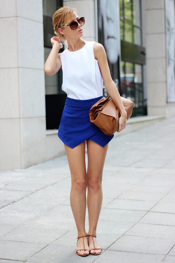 синие шорты фото