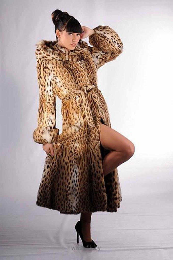 Леопардовая Шуба