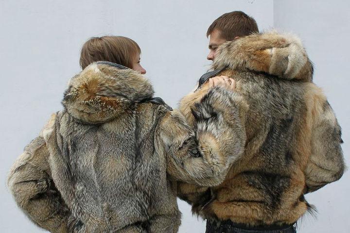 куртка из волка мужская клуба