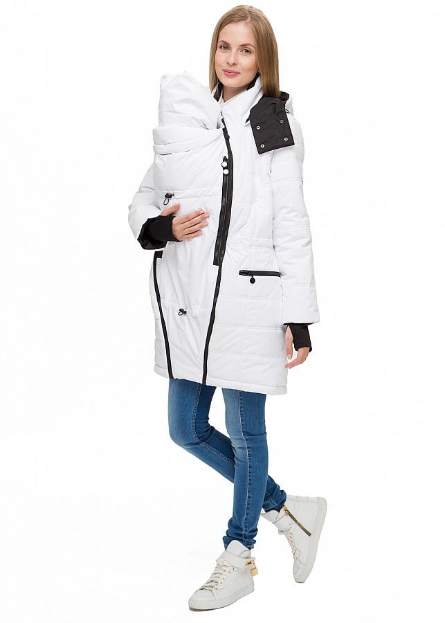 0ead94fad842 Убрав специальные слинго-вставки, вы получаете самую обыкновенную курточку,  которую можно носить на первых месяцах беременности и после рождения  малыша, ...