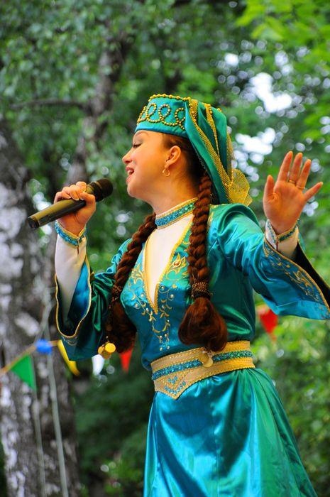 Татарский национальный костюм (88 фото): женские модели и ... Татарский Национальный Костюм