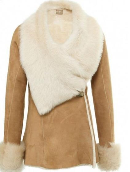 куртки из овчины женские фото