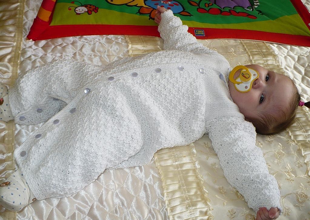 Вязаные детские костюмы (48 фото): для новорожденных ...