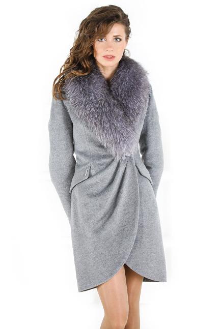 Полупальто зимнее женское 2019-2020 (60 фото)  на синтепоне, с мехом ... e6047f0e5e6