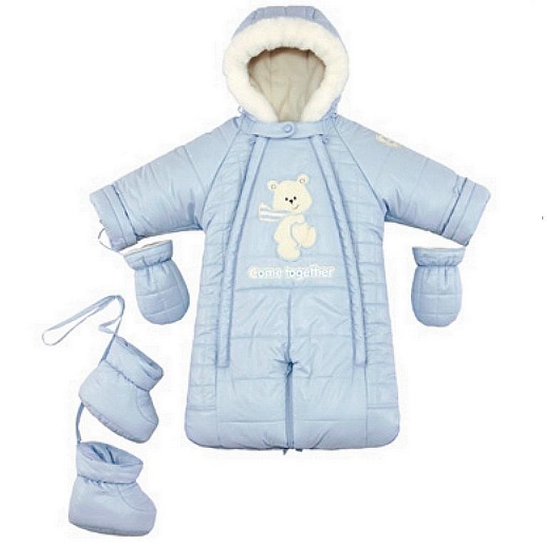Комбинезон-конверт для новорожденных зимний (45 фото)  трансформер ... eb2e4666e194d