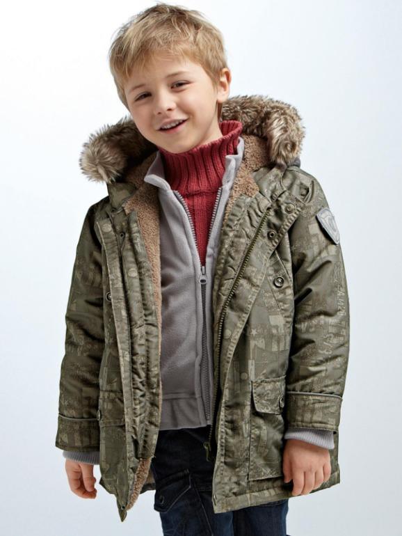фото куртки парки детские