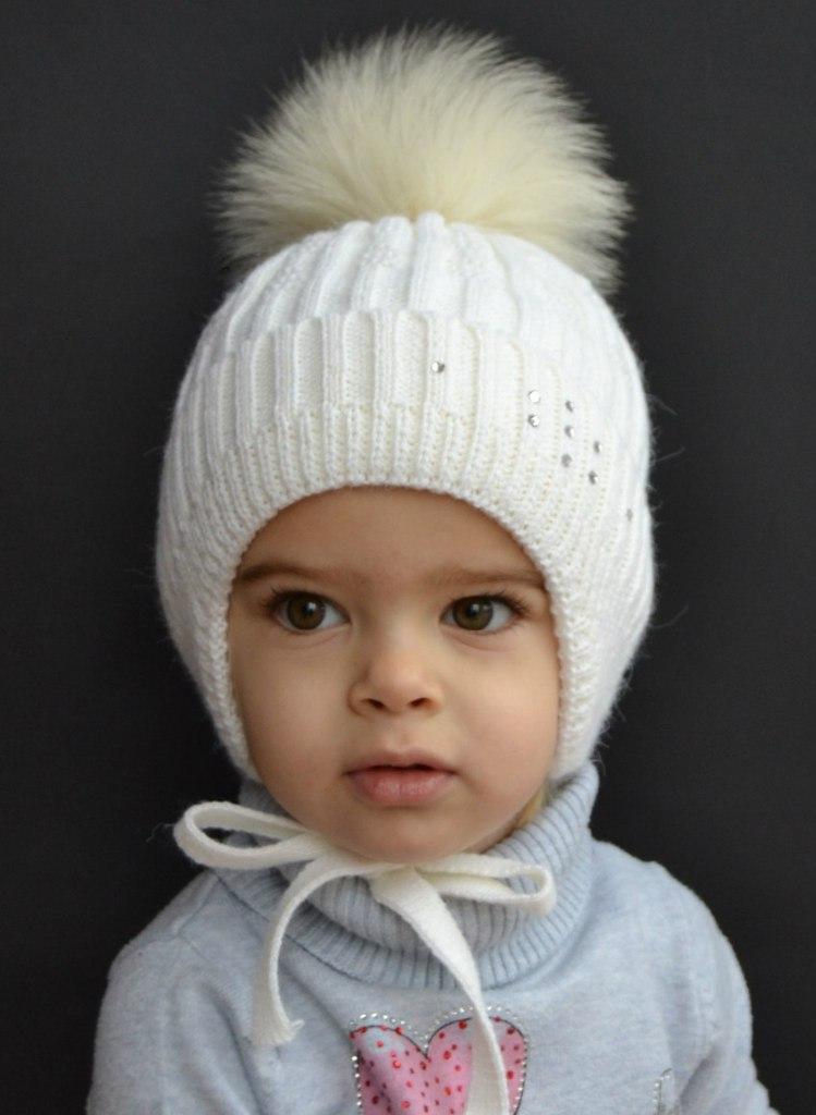 Детские зимние шапки 2019-2020 (64 фото)  теплая шапка-шлем и с ... 2be5dade8cf65