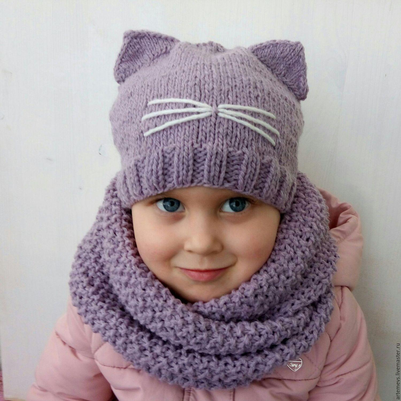 Шарф для ребенка вяжем