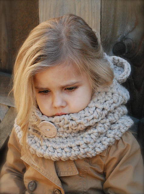Вязание снуда для ребенка 434