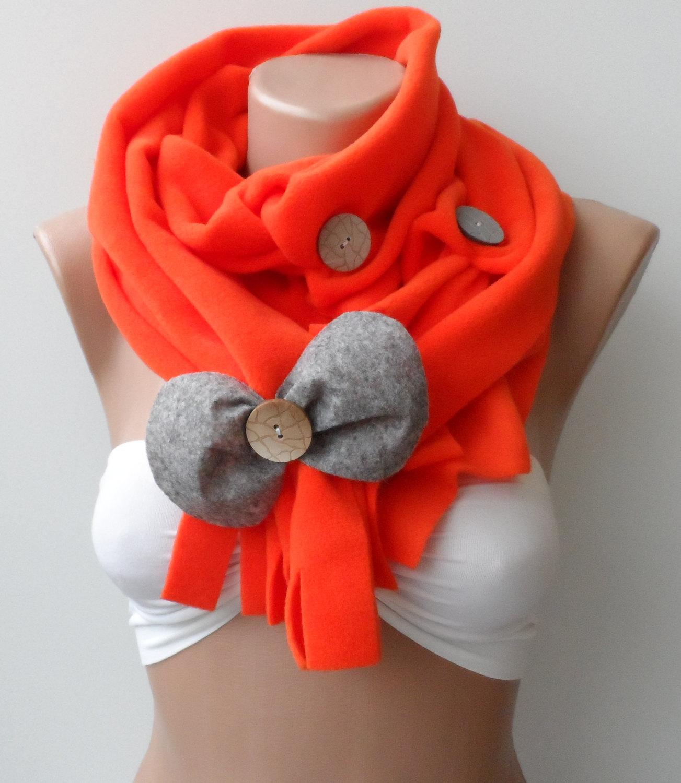 3 способа сделать шарф из флиса Шитье 81
