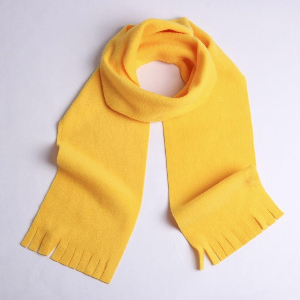 Детский шарф из флиса своими руками 7