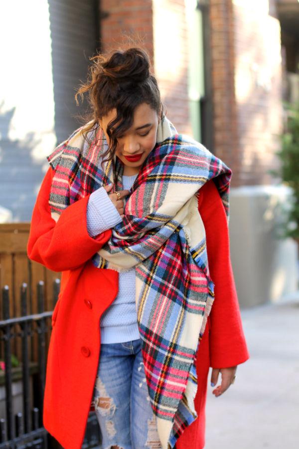 Платок На Пальто