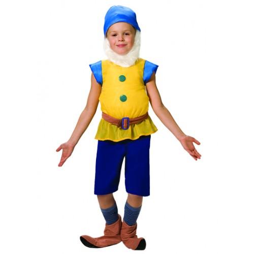 Детский карнавальный костюм гнома своими руками