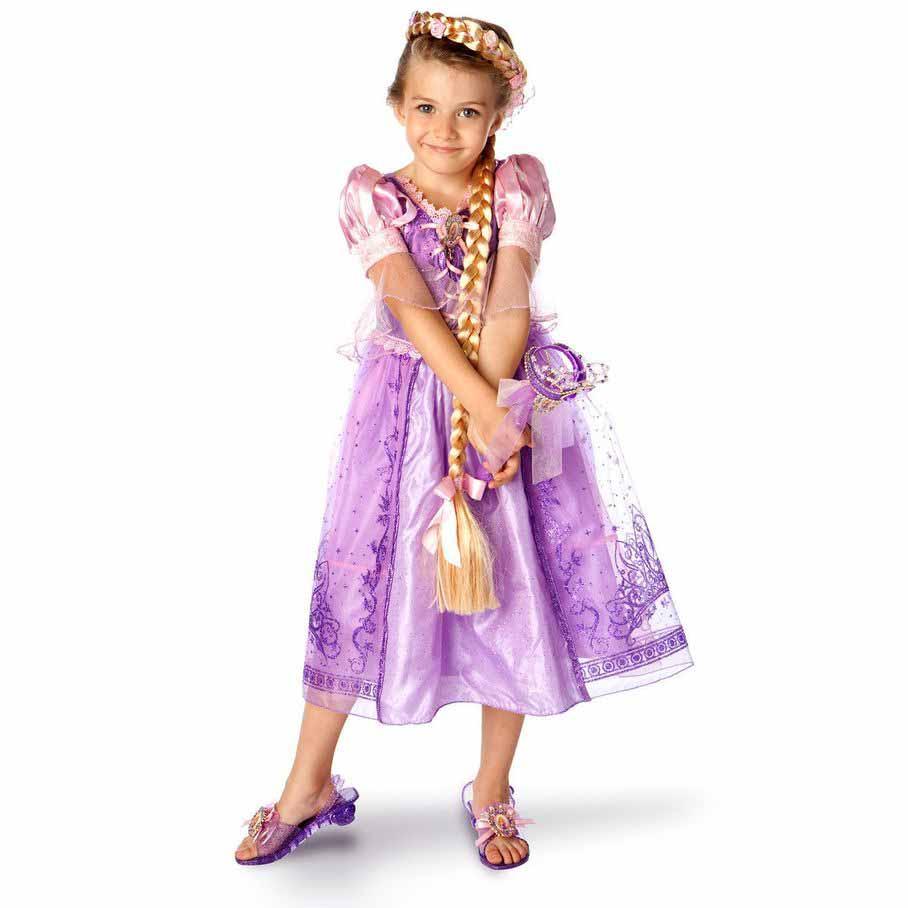 Платье Рапунцель Купить Для Девочки