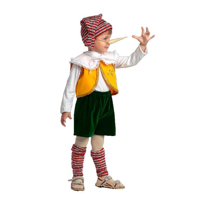 Новогодний костюм своими руками для мальчика буратино