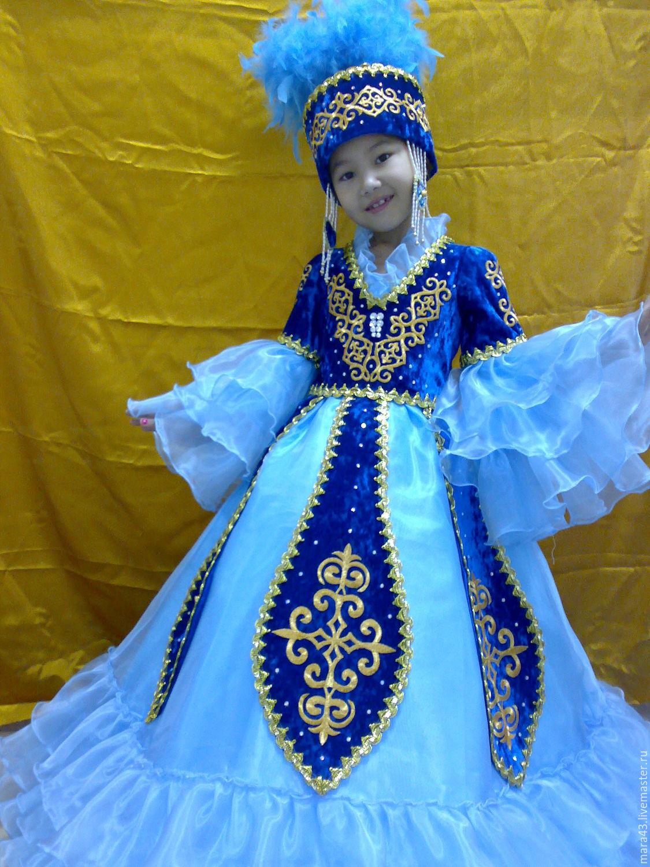 Казахский национальный костюм: описание и фото