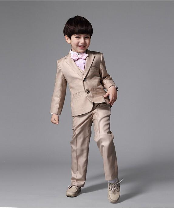 Школьный костюм для мальчика 7-14 лет: пиджак, жилет, рубашка, брюки 362