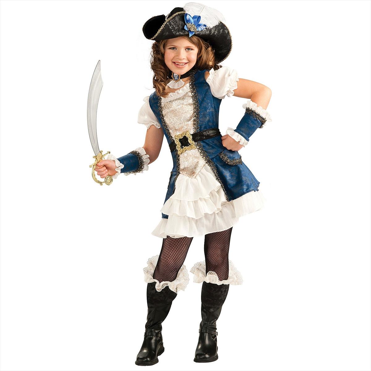 Girl pirate makeup