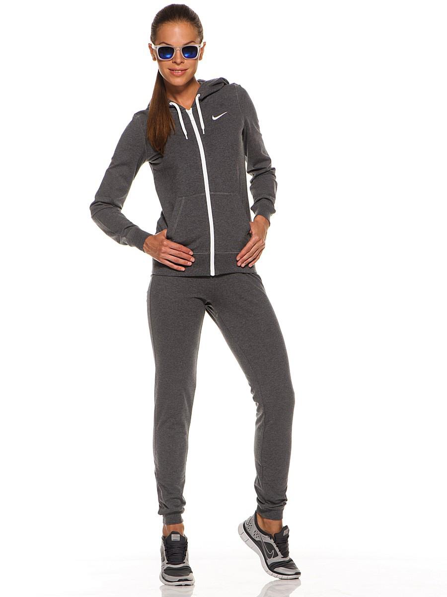 Спортивный костюм найк серый женский