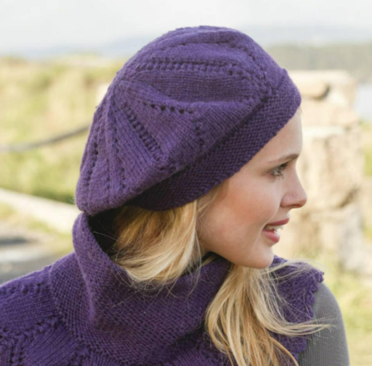 Вязание шапок из дропс