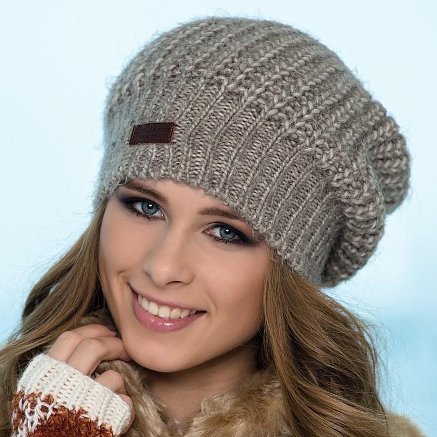 Вязанные шапки женские своими руками спицами