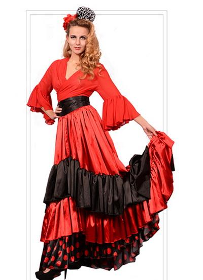 национальный костюм испании картинка
