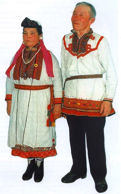 Коми нацианальный костюм