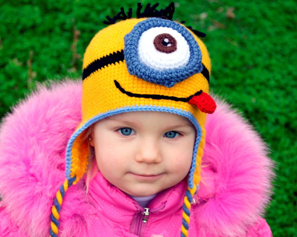 мальчику детскую вязать шапку