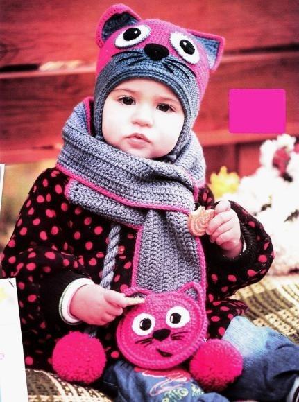 шарф и шапка для девочки 42 фото комплект детские вязаные шапки и