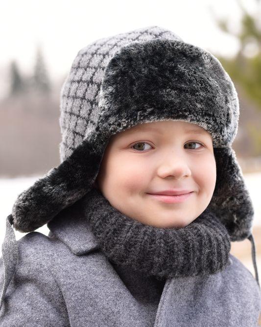 шапки для мальчиков зима 1