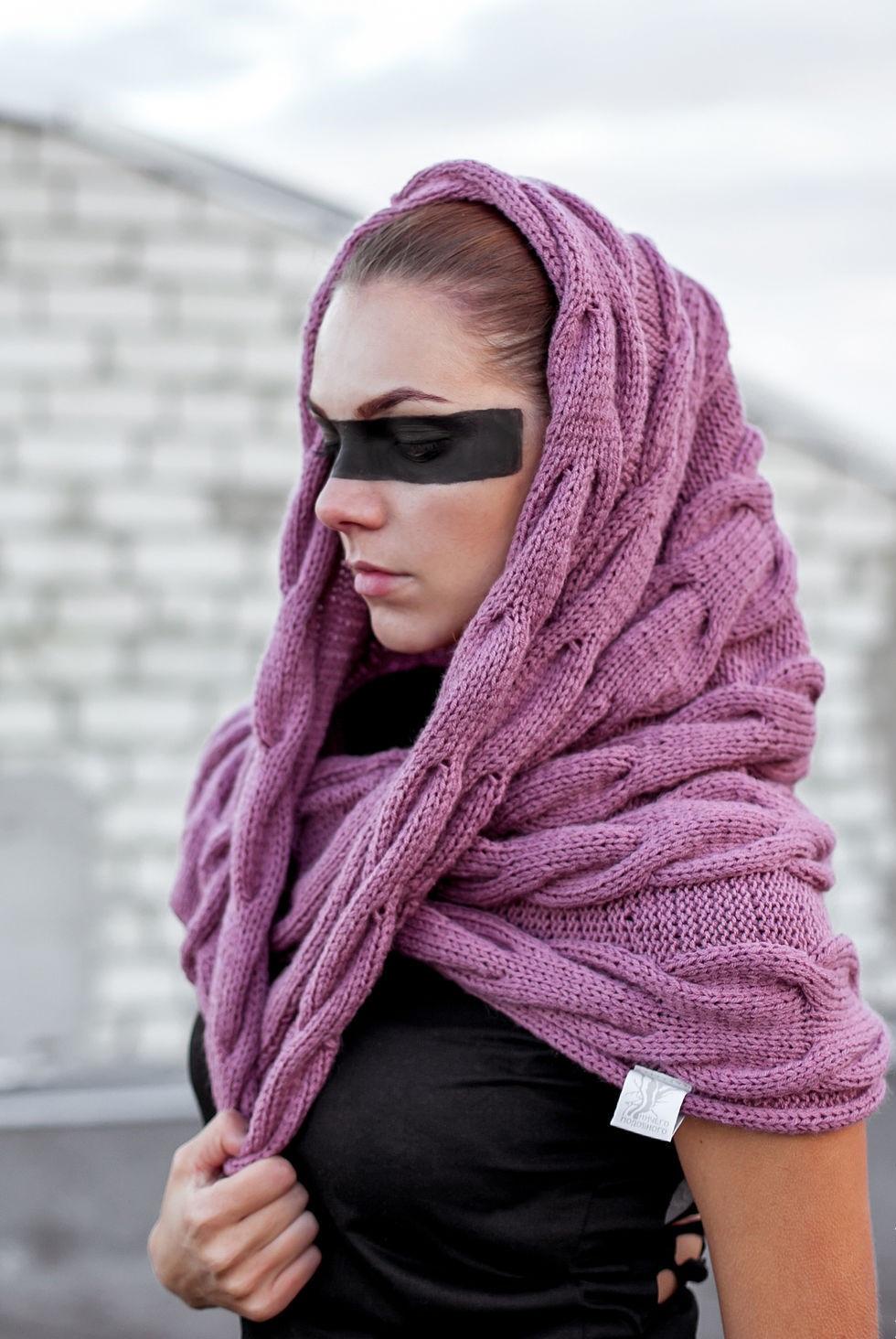 Стильный шарф-снуд (50 фото) Как и с чем носить?