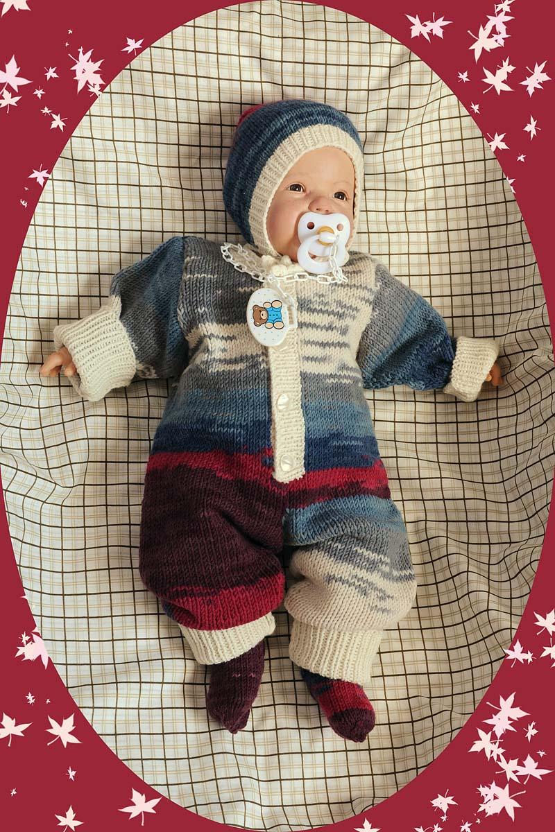 Вязаные костюмы для новорожденных (48 фото): для девочек и ...