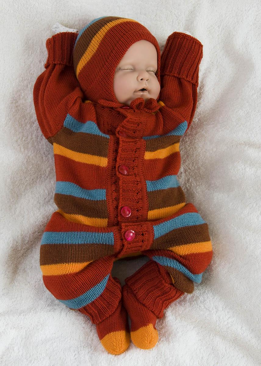 Костюмы Для Новорожденных Вязаные Фото