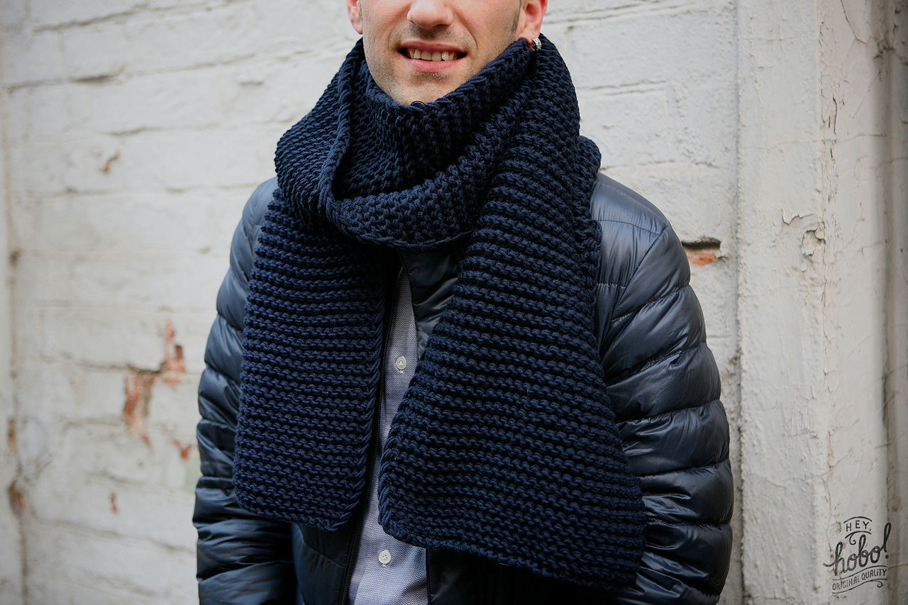 Вязание крючкоммужские шарфы 88