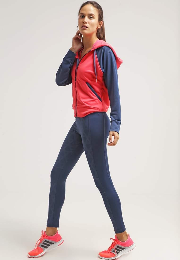 Синий спортивный женский костюм адидас с доставкой