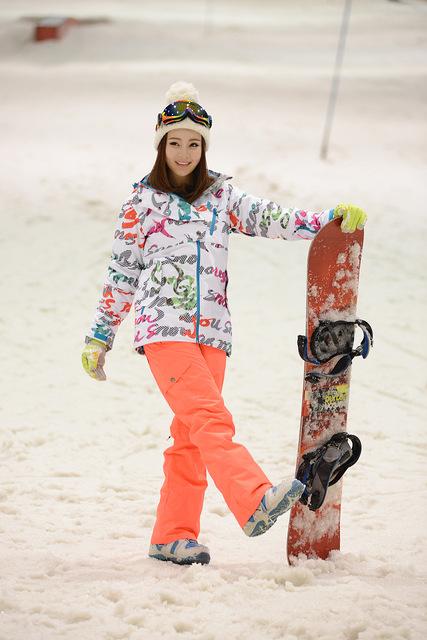 Сноубордический костюм женский