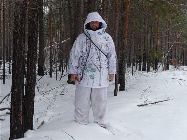 Зимняя маскировка своими руками 74