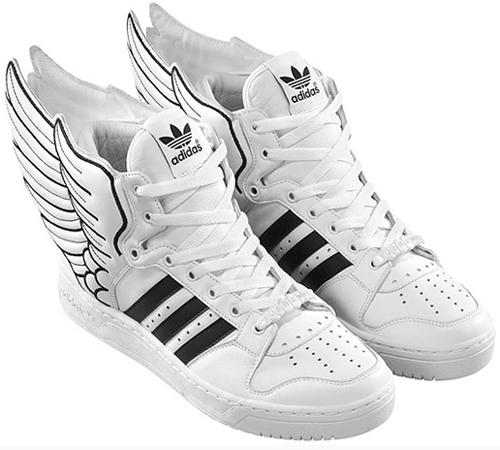 Высокие белые кроссовки – фирма Adidas не практикует производство высоких  кроссовок. Торговая марка придерживается принципа, что хотя бы одна деталь  в ... 79e8cd658e1