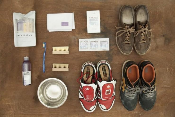 Чем отбелить обувь из кожи