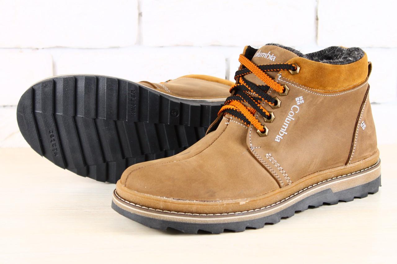 Зимние ботинки мужские фото