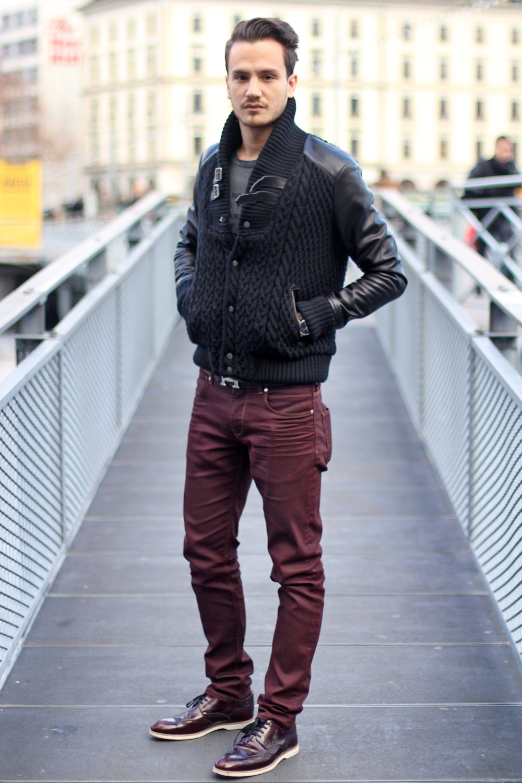 Dark jeans mens fashion 63