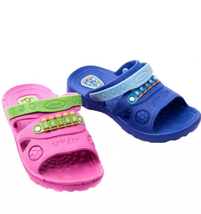 8814fc657 Детские шлепанцы: резиновые шлепки для бассейна для мальчиков и ...