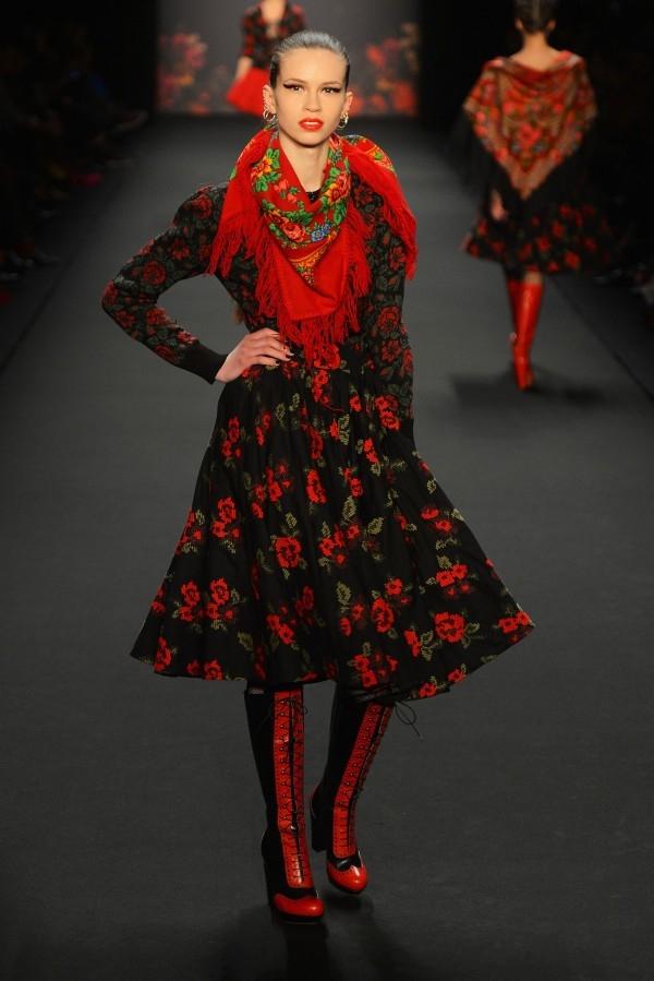Русский стиль в одежде что это