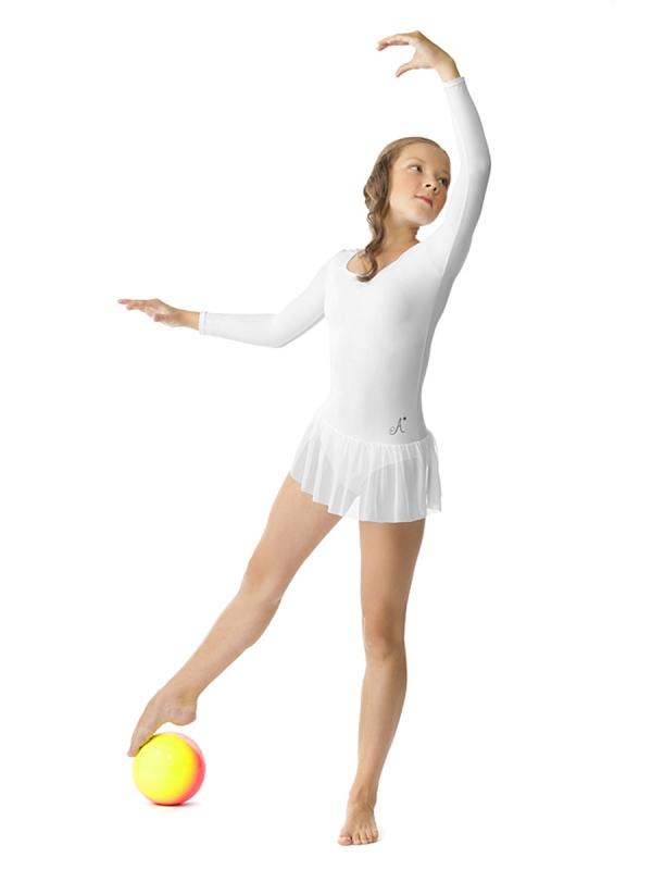 Купальник спортивный с юбкой для девочки